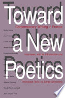 Toward a New Poetics