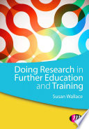 Doing Research in Further Education and Training