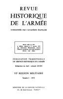 Revue historique de l'Armée - numéro 2, Les troupes de Marine