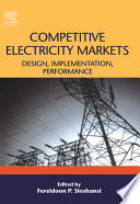 Competitive Electricity Markets book