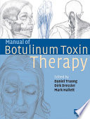 Manual of Botulinum Toxin Therapy In A Wide Variety Of Disorders In
