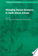Managing Human Resources in South African Schools Book PDF