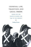Criminal Law  Tradition and Legal Order