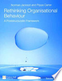 Rethinking Organisational Behavior