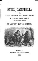 download ebook sybil campbell: or, the queen of the isle, by cousin may carleton pdf epub