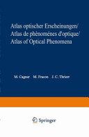 Atlas de phénomènes d'optique