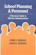 School Planning Personnel