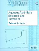 Aqueous Acid base Equilibria and Titrations