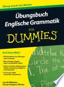 bungsbuch Englische Grammatik f  r Dummies
