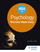 AQA AS Psychology  Revision Made Easy