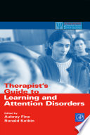 Therapist s Guide to Learning and Attention Disorders