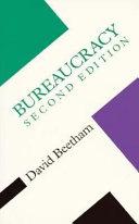 Ebook Bureaucracy Epub David Beetham Apps Read Mobile