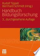 Handbuch Bildungsforschung