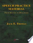 Speech Practice Material
