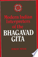 Modern Indian Interpreters of the Bhagavad Gita