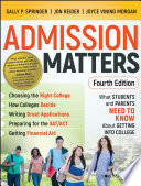 Admission Matters Book PDF