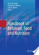 Handbook of Behavior  Food and Nutrition