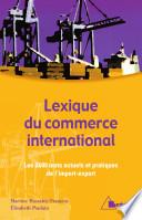 Lexique du commerce international