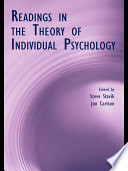 Readings In The Theory Of Individual Psychology book