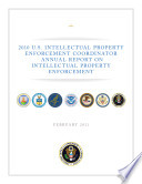Intellectual Property Enforcement  2010
