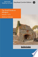 The Small House At Allington Volume 1 Of 2 Easyread Comfort Edition