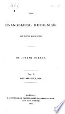 The Evangelical Reformer And Young Man S Guide
