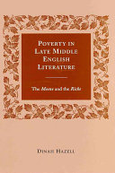 Poverty in Late Middle English Literature