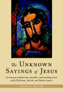 download ebook the unknown sayings of jesus pdf epub