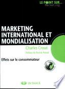 Marketing international et mondialisation
