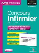Concours Infirmier   40 th  mes d actualit   sanitaire et sociale   L essentiel en 40 fiches