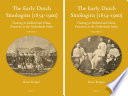 The Early Dutch Sinologists (1854-1900) (2 vols) Detailed Account Of The Studies And Work