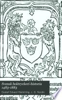 Svensk boktryckeri-historia 1483-1883