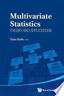Multivariate Statistics  Theory and Applications