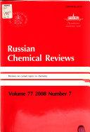 Russian Chemical Reviews book