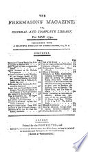 Freemason's Magazine, Or General and Complete Library
