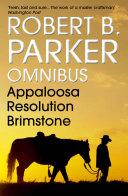Robert B  Parker Omnibus