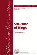 Structure of Rings