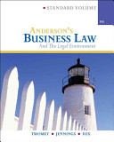 Anderson's Business Law and Legal Environment, Standard