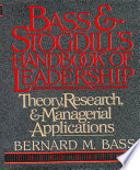 Bass   Stogdill s Handbook of Leadership