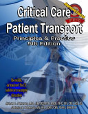 Critical Care Patient Transport  Principles and Practice