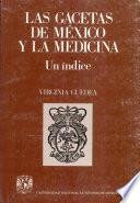 Las gacetas de México y la medicina