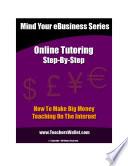 Online Tutoring Step By Step