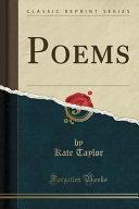 Poems  Classic Reprint