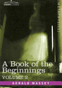A Book of the Beginnings
