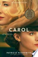 Carol  Movie Tie In