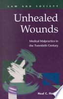 Unhealed Wounds book