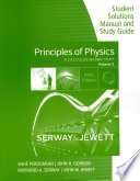 Student Solutions Manual with Study Guide for Serway Jewett s Principles of Physics  A Calculus Based Text  Volume 2