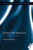 Aesthetics After Metaphysics book