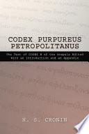 Codex Purpureus Petropolitanus