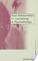 Dual Relationships In Counselling Psychotherapy